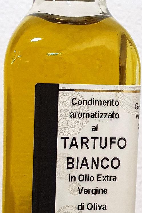 Huile aromatisée à la Truffe Blanche, 100 ml, Gemignani Toscane