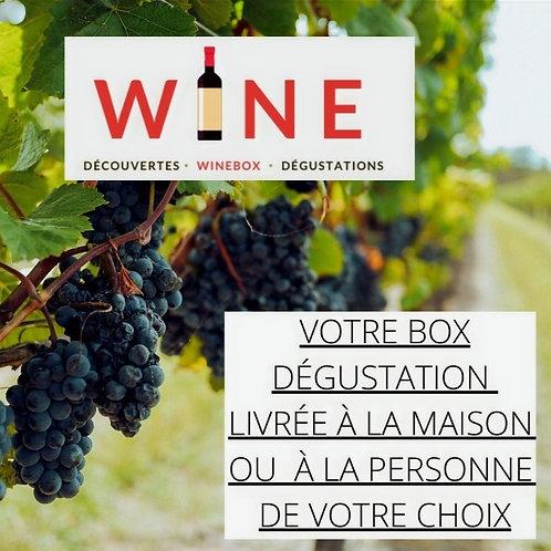 WINE votre abonnement 3 mois découverte de Vins