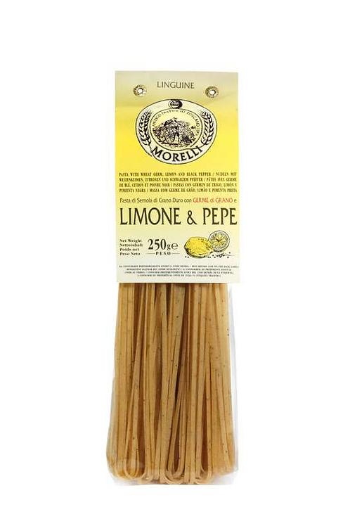 Linguine Citron et Poivre Morelli, 250g