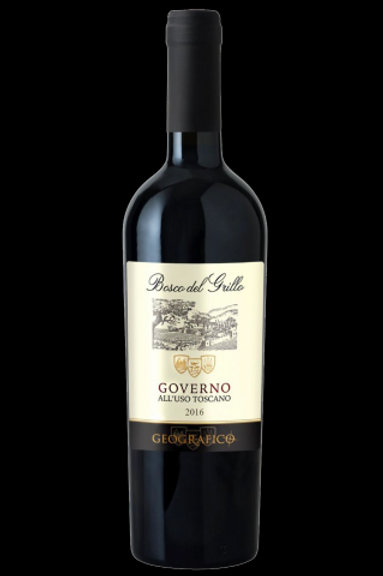 Bosco del Grillo 2016 Rosso Toscana IGT Governo, Geografico 0.75 L