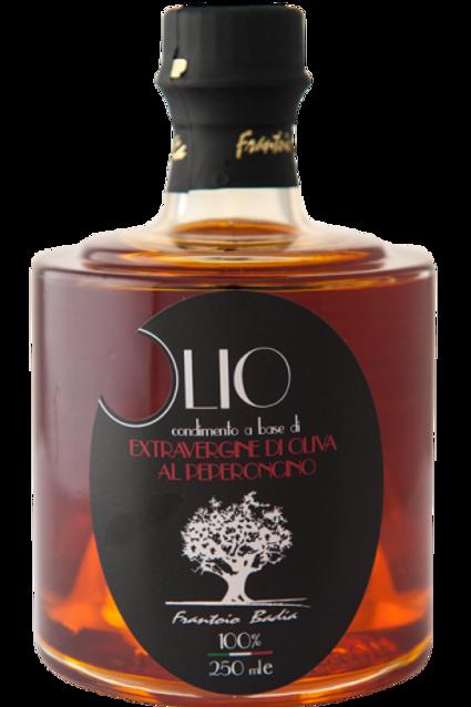 Huile d'olive aromatisée aux Piments 0.25 L