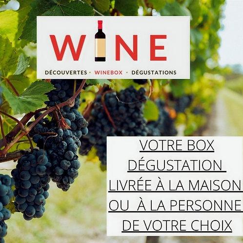 WINE votre abonnement 6 mois découverte de Vins