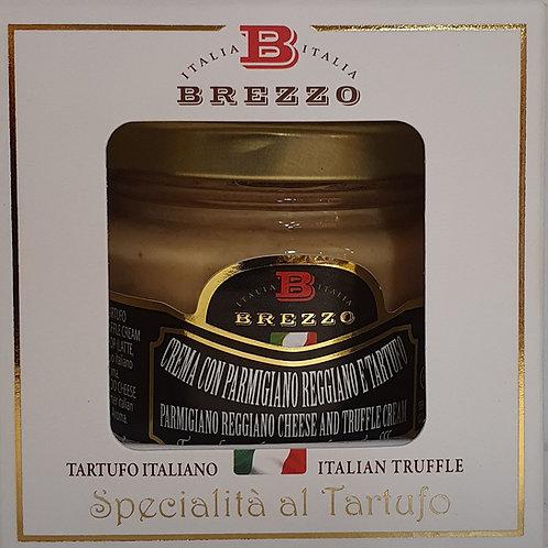 Crème de Truffe Blanche du Piémont et Parmesn DOP , 80g, Brezzo