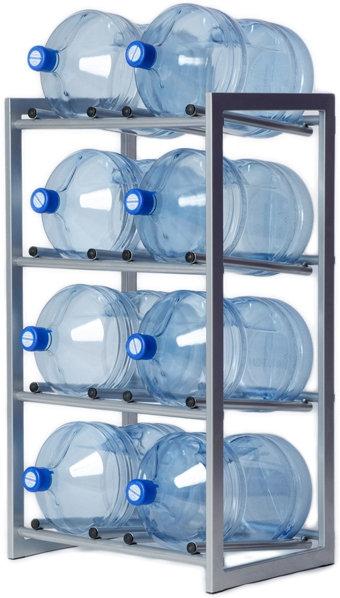 Стеллаж для воды (8 бут.)