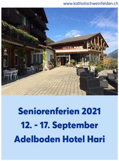 Seniorenferien 2021