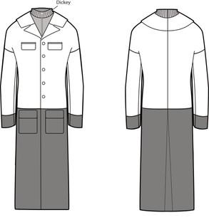 Menswear Winter Coat Project