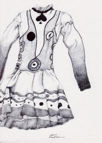 Shy Girl Costume, Elite Syncopations