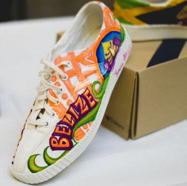 Belize Sneaker Design