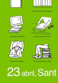 Manual de uso de un libro