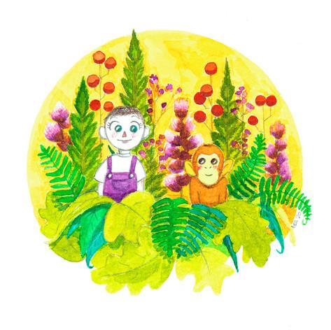 Elna y su momillo