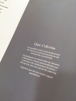 Foto carta restaurante Airesol