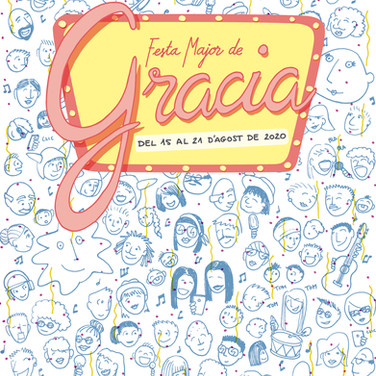Cartel festa Major Gracia