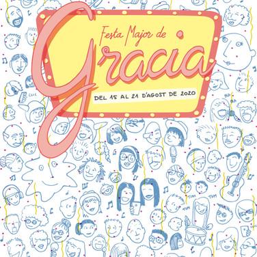 Cartel festa Major Gracia