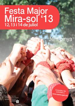 Cartell FM Mira-sol 2013