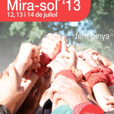 Cartel FM Mira-sol 2013