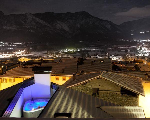 Deluxe piscina hotel Romanda Levico