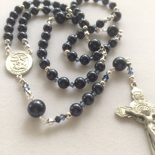 US Military Rosary (Air Force) in Pewter