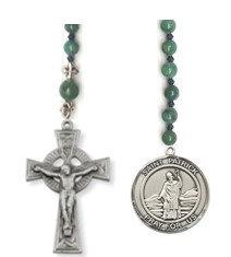 St Patrick's School Pewter Pocket Rosary