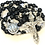 Thumbnail: Sterling Onyx Warrior of the Holy Spirit Rosary