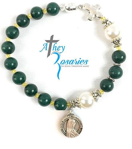 Georgetown Visitation Rosary Bracelet
