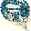 Thumbnail: Sterling Crazy Lace Agate Dainty Rosary