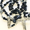 Thumbnail: St Joseph Dumortierite and Sterling Rosary