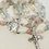 Thumbnail: Delicate Pink Beryl and Sterling Rosary