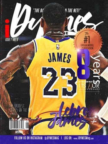 Lebron James Cover (2020)