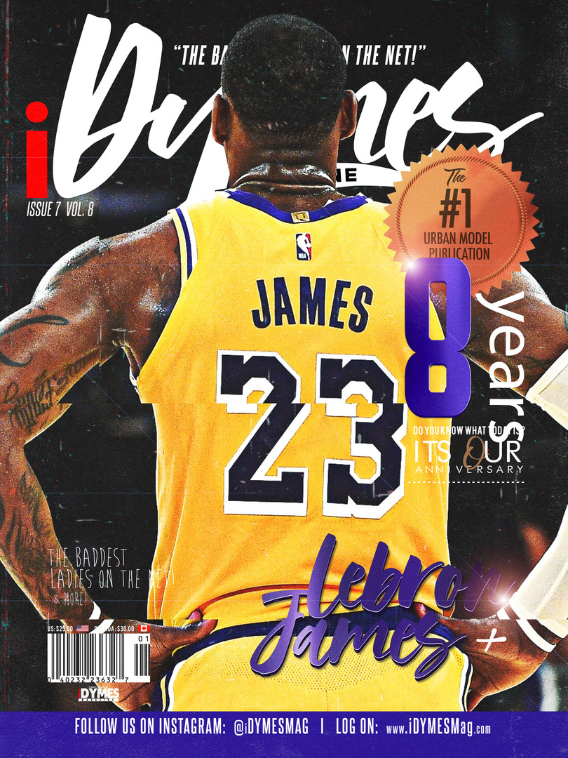 Lebron James Cover (2020)