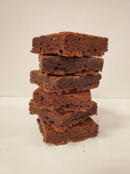 Salted Fudge Brownies - 6 Pack