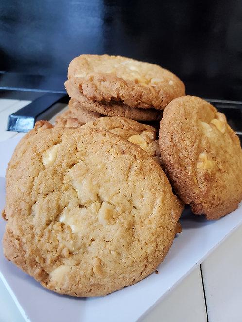 "Macadamia Nut Cookies - ""Cocomo""  - 6 Pack"