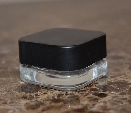 9ML CLEAR PREMIUM GLASS JAR  + CR LID