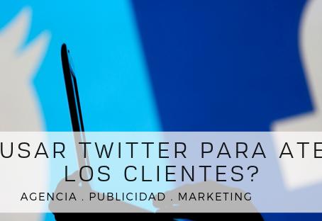¿Cómo usar Twitter para atender a los clientes?