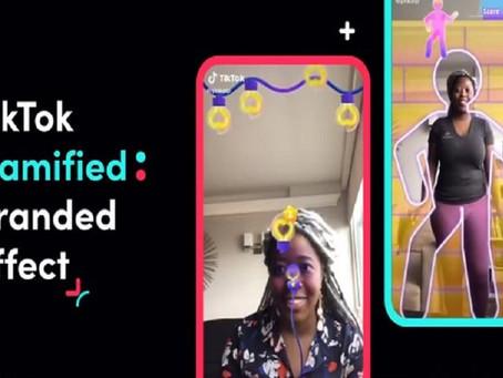 Gamified Branded Effect: Nuevo filtro de TikTok para las marcas