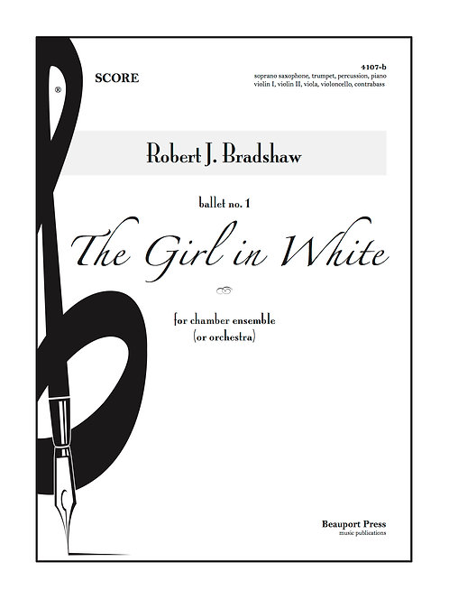 THE GIRL IN WHITE (Tpt/Sax)