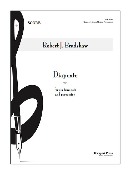 DIAPENTE (Trumpet Ensemble w/Percussion)