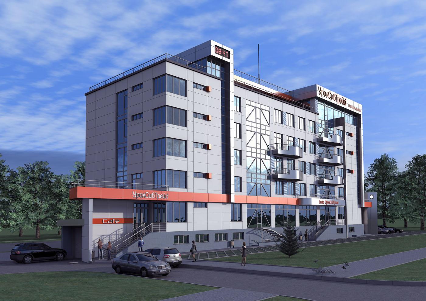 Административно-офисные здания