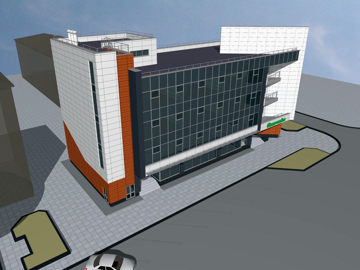 Здание оздоровительного учреждения