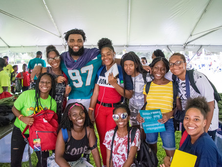 Urban Youth Impact Students Invited to Attend Miami Dolphins Training Camp