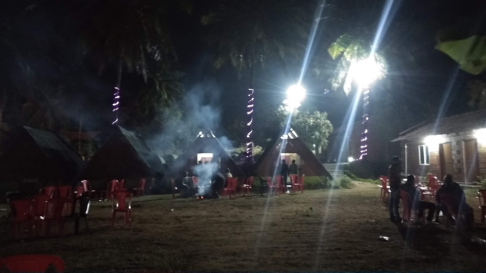 Resort in Bangalore For Night Stay - Campfire