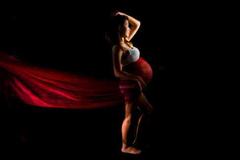 影樓孕婦攝影