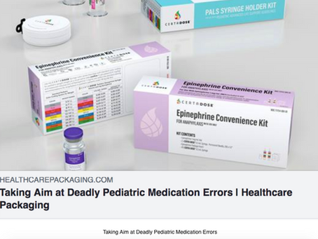 Taking Aim at Deadly Pediatric Medication Errors