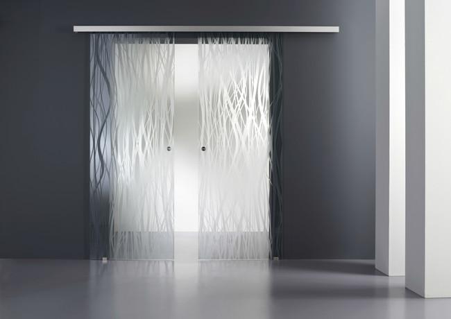 Porta in vetro temperato