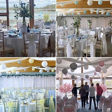 Chicheste Yacht club wedding decorations