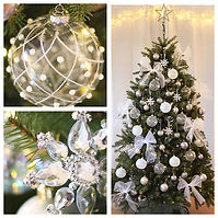 Christmas decoration service in West Sussex