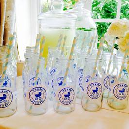 Milk bottles & mason jars