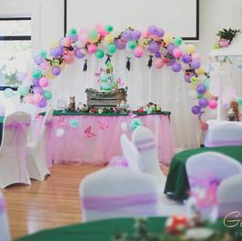 Bespoke balloon arches