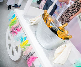 Prosecco cart fo hire West Sussex