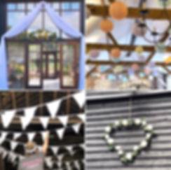 Upwaltham Barns venue styling