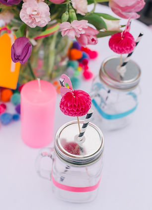 Mason jars for hire West Sussex